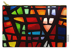 Carry-all Pouch featuring the photograph Stained Glass 2 by Michael Canning