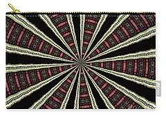 Stained Glass Kaleidoscope 14 Carry-all Pouch by Rose Santuci-Sofranko