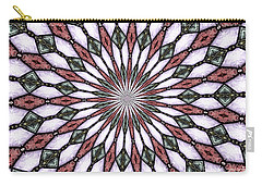 Stained Glass Kaleidoscope 2 Carry-all Pouch by Rose Santuci-Sofranko