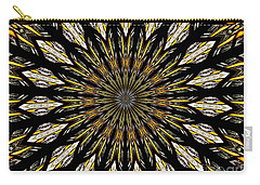 Stained Glass Kaleidoscope 5 Carry-all Pouch by Rose Santuci-Sofranko