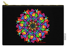 Stained Glass Mandala Carry-all Pouch
