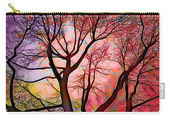 Stained Glass Sunrise 2 Carry-all Pouch