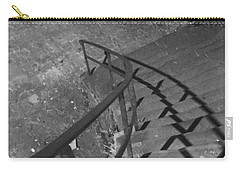 Stairway In Black And White Carry-all Pouch