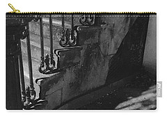 Stairway Lll Black And White Carry-all Pouch