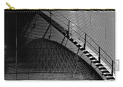 Carry-all Pouch featuring the photograph Stairway Shadow by Christopher McKenzie