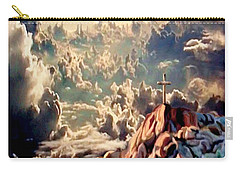 Stairway To Heaven Carry-all Pouch by Ron Chambers