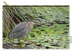 Carry-all Pouch featuring the digital art Stalking by I'ina Van Lawick