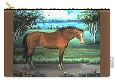 Stallion Portrait Carry-all Pouch