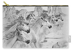 Stampede In Sedona Carry-all Pouch