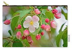 Stand Alone Japanese Cherry Blossom Carry-all Pouch