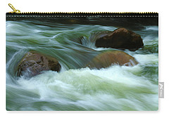 Carry-all Pouch featuring the photograph Stand Like A Rock by Marie Leslie