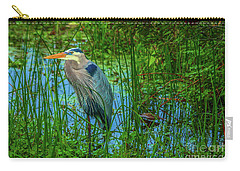 Standing Heron #1 Carry-all Pouch