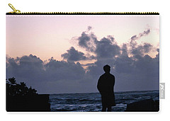 Standing In Kapoho's Morning Light  Carry-all Pouch