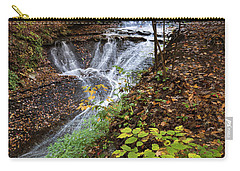Carry-all Pouch featuring the photograph Standing On The Edge by Dale Kincaid