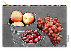 Carry-all Pouch featuring the photograph Standing Out As Fruit by Sherry Hallemeier