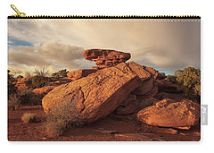 Standing Rocks In Canyonlands Carry-all Pouch
