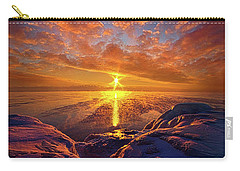 Carry-all Pouch featuring the photograph Standing Stilled by Phil Koch