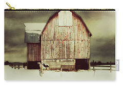 Carry-all Pouch featuring the photograph Standing Tall by Julie Hamilton