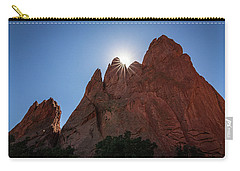 Standstone Sunburst - Garden Of The Gods Colorado Carry-all Pouch