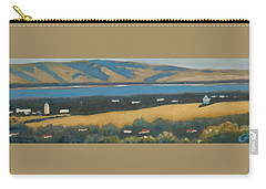 Carry-all Pouch featuring the painting Stanford By The Bay by Gary Coleman