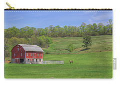 Star And Moon Barn Carry-all Pouch