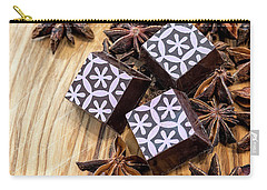 Star Anise Chocolate Carry-all Pouch by Sabine Edrissi
