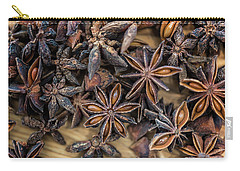 Star Anise Carry-all Pouch by Sabine Edrissi
