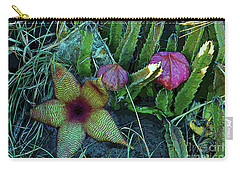 Star Blossom Carry-all Pouch by Craig Wood