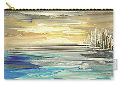 Carry-all Pouch featuring the painting Star Born by Tatiana Iliina