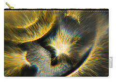 Carry-all Pouch featuring the photograph Star Burst by Greg Collins