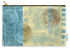 Carry-all Pouch featuring the photograph Star Chart Landing Pattern by Carol Leigh
