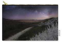 Carry-all Pouch featuring the photograph Star Flowers by Bill Wakeley