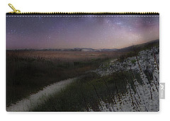 Carry-all Pouch featuring the photograph Star Flowers Square by Bill Wakeley