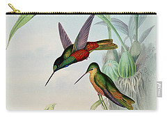 Star Fronted Hummingbird Carry-all Pouch