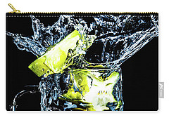Carry-all Pouch featuring the photograph Star Fruit Splash by Ray Shiu