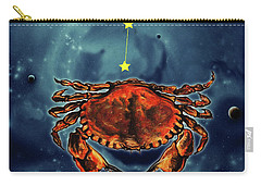 Star Of Cancer Carry-all Pouch
