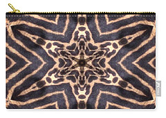 Star Of Cheetah Carry-all Pouch by Maria Watt
