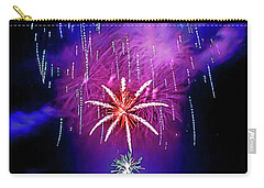 Carry-all Pouch featuring the photograph Star Of The Night by Az Jackson