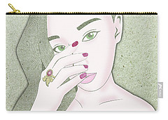 Star Ruby Carry-all Pouch