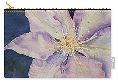 Carry-all Pouch featuring the painting Star Shine by Mary Haley-Rocks
