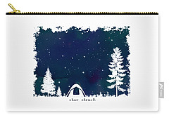 Carry-all Pouch featuring the digital art Star Struck by Heather Applegate