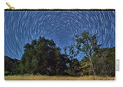 Star Trails Around Polaris Carry-all Pouch