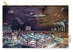 Carry-all Pouch featuring the photograph Star Wars Detroit by Nicholas Grunas