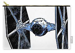 Star Wars Tie Fighter Carry-all Pouch by Edward Fielding