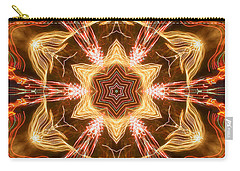 Starbright Mandala Carry-all Pouch by Wernher Krutein