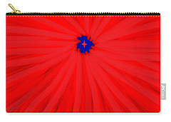 Starburst 2' By Sumi E Master Linda Velasquez Carry-all Pouch by Linda Velasquez