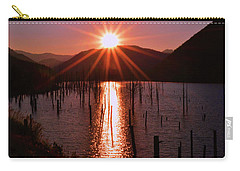 Starburst Sunrise - Earthquake Lake 005 Carry-all Pouch