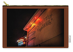 Carry-all Pouch featuring the photograph Stardust Motel by Kristia Adams