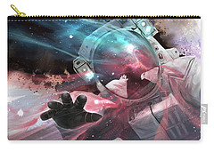 Carry-all Pouch featuring the digital art Stardust by Steve Goad