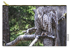 Carry-all Pouch featuring the photograph Stare Down by DeeLon Merritt